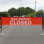 Closing a road or station? No problem with the Tigrox banner barrier system.