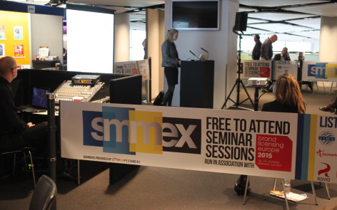 Wembley SMMEX Event Branded Barriers